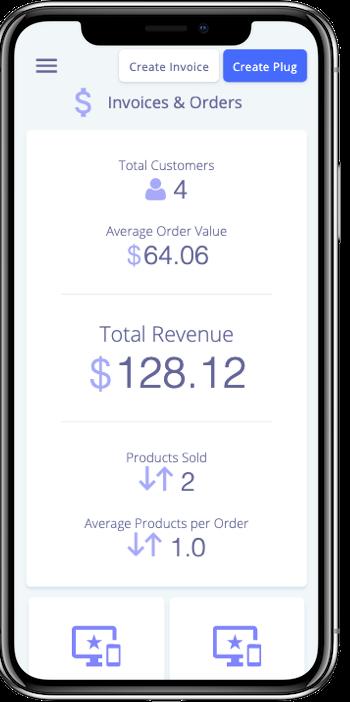 Mobile Responsive Admin - plug&paid